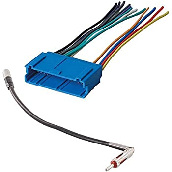 41RzGPToGLL._SL500_AC_SS350_ Aftermarket Car Stereo Radio To Saturn Wiring Wire Harness Adapter on
