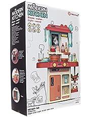 Beibe Good 889-168 Modern Kitchen Playset with Sound & Light, 42 Pieces