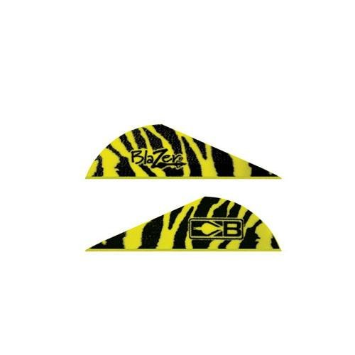 Blazer Vanes 2'' Yellow Tiger by Bohning