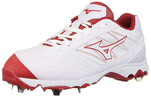 (Mizuno 9-Spike Advanced Sweep 4 9 White/Red)