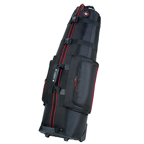 Golf Travel Bags Medallion 6.0 Black/RED Trim