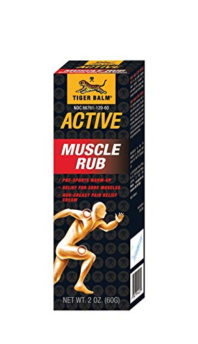 2 Packs of Tiger Balm Fast Relief Muscle Rub Topical Analgesic Cream - 2 Oz