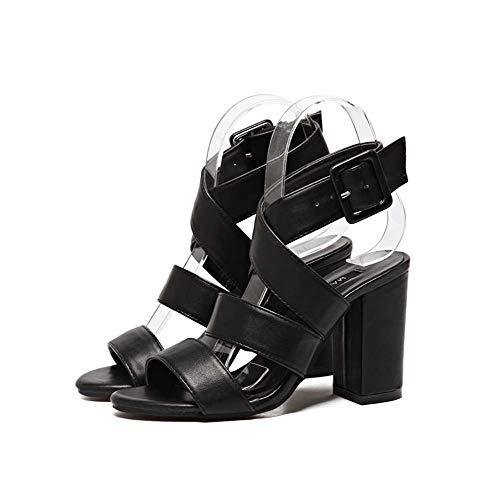 Respirant Romain black D'été Élastique Ghfjdo Boho Chaussures Les Fashion Open Beach Casual Femmes Flats Sandales Sandales Sangle 35eu Chaussures toe wSIOIAUq
