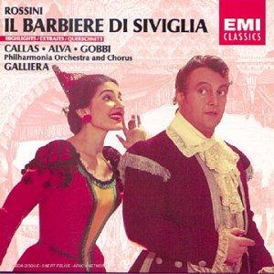Rossini - Il Barbiere di Siviglia/ Barber of Seville - highlights By Luigi Alva & Maria Callas. (1989-06-05)