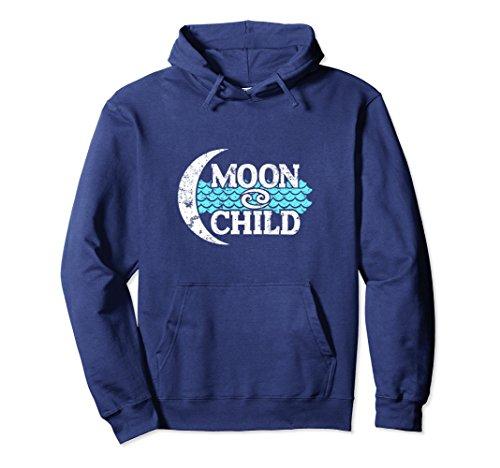 ncer Zodiac Cool Hooded Sweatshirt Medium Navy (Cancer Kids Hoodie)