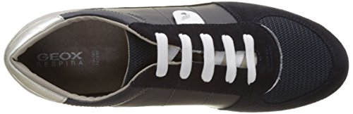 Geox D Avery B, Zapatillas para Mujer Azul (NAVYC4002)