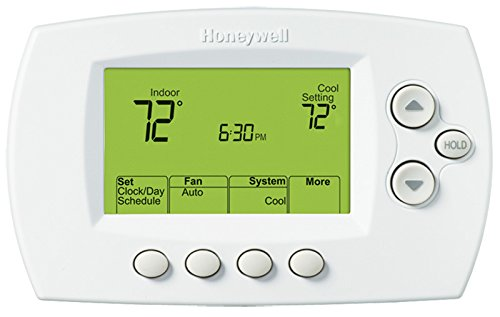 Thermostat, 5-1-1/5-2 Day Programmable, Stages 1 Heat/1 Cool