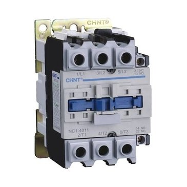 Chint NC1-9511-110V General Contactor, 110V, 95 A, AC3, 3 Main + 1 N/O and 1 N/C Aux Chint Europe (UK) Ltd