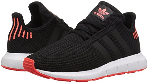 adidas Originals Baby Swift Running Shoe Black/Solar red, 9.5K M US Toddler by adidas Originals (Image #5)
