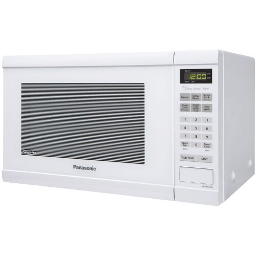Countertop Oven Dubai : Panasonic NN-SN651W White 1200W 1.2 Cu. Ft Countertop Microwave Oven ...