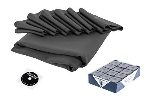 (Spencer Marston Simonis 860 Pool Table Cloth Set 8 ft, Slate Gray)