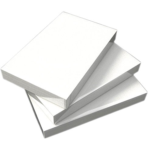 "Debra Dale Designs - 5"" x 8"" Blank Unruled Standard White 110# Index Cards - 300 Cards - Wrapped In Packages Of 100 - Use For Recipe Cards, Note Cards Or Oversize Blank Flash Cards."