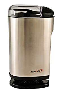 Saachi SA-1440 Electric Coffee Grinder, Small, Silver (B000LB812M) | Amazon price tracker / tracking, Amazon price history charts, Amazon price watches, Amazon price drop alerts