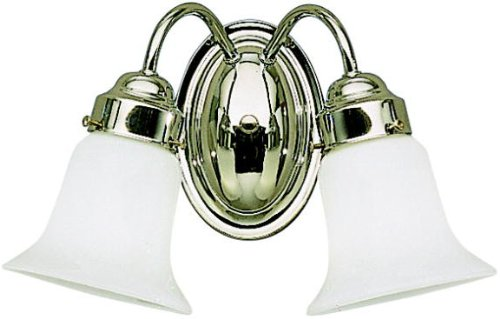 Kichler 6122CH Bath 2-Light, Chrome