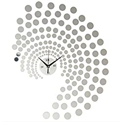 Peacock Dot DIY Wall Clock Home Decoration Acrylic Wall Stickers by Superjune