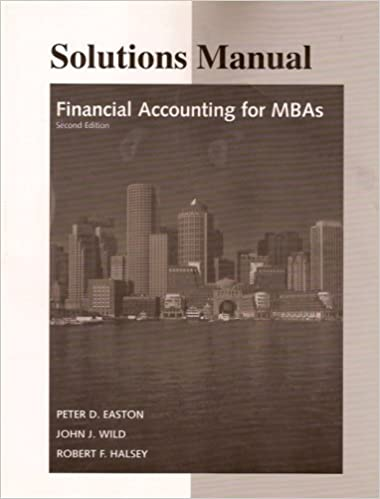 Financial accounting for mbas solutions manual peter d easton financial accounting for mbas solutions manual peter d easton john j wild robert f halsey 9780975970126 amazon books fandeluxe Images