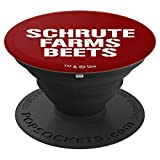 The Office Schrute Farms Beets Dwight Schrute PopSocket - PopSockets Grip and Stand for Phones and Tablets