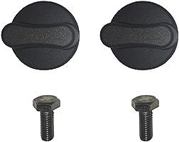 Lock N Load BK1000 Orange//Black Deluxe Motorcycle Wheel Chock Combo Kit