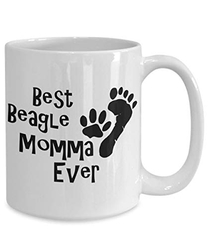 (Best quality Best beagle momma ever coffee mug - gift for her, mother's day mom girlfriend wife mothers-novelty tea cup)