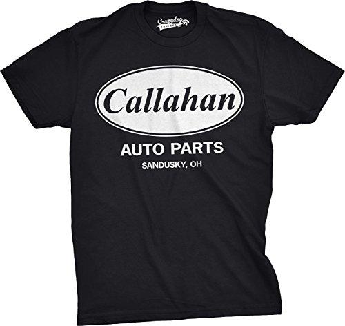 Mens Callahan Auto T Shirt Funny Shirts Cool Humor Tees Sarcasm (Black) 5XL ()