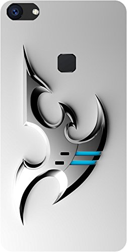 factory authentic 2f1cb eb5f2 BuyFeb Designer Printed Back Cover for Vivo V7 Plus