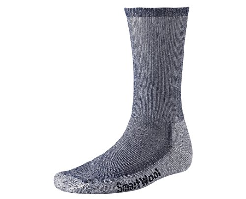 Smartwool Men's Hiking Medium Crew Sock (Large, Navy)