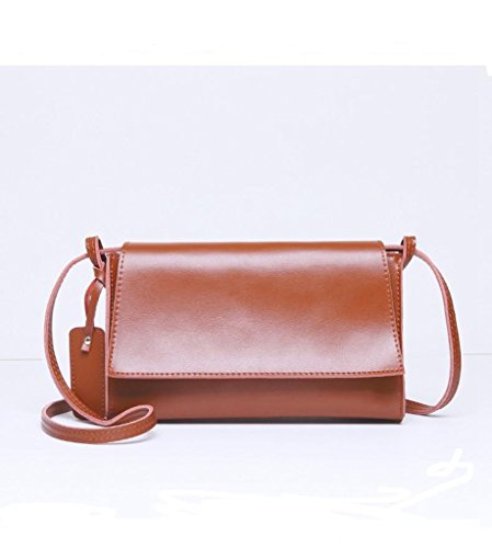 1 In Messenger università A 1 Pelle Sucastle viaggio Spalla Vintage Donna Tipo Borsa Bag Tracolla D'affari waq6BY