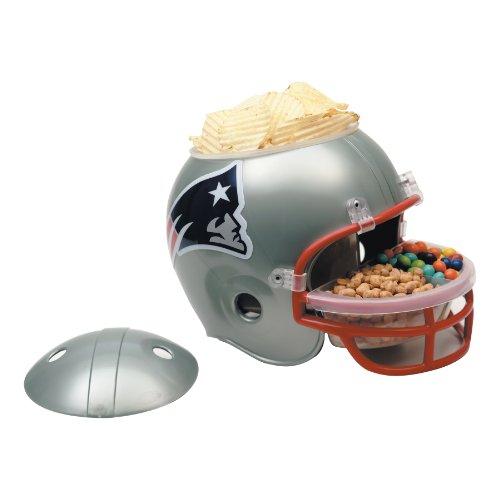 NFL New England Patriots Snack Helmet (New Nfl Helmets)