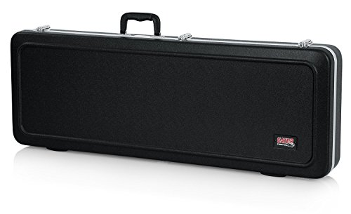 Gator Cases Deluxe ABS Molded Case for Stratocaster and Telecaster Style Electric Guitars (GC-ELECTRIC-A) (Case Stratocaster Deluxe)