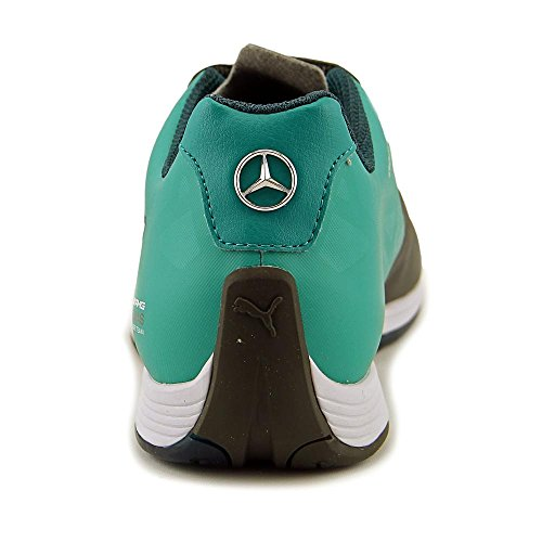 Puma Mercedes Evospeed Dentelle Chaussures Hommes Dark Shadow-puma Blanc