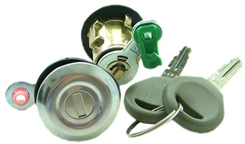 (Well Auto Door Lock Cylinder Set-Tumbler with Key(L &R) for 98-03 Altima 98-04 Frontier 96-04 Pathfinder 00-04 Xterra)