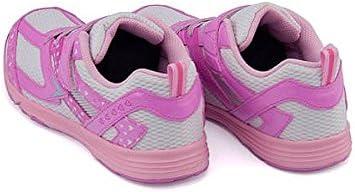 レモンパイ 女の子 キッズ 子供靴 運動靴 通学靴 ランニングシューズ スニーカー ゴム紐 ストラップ クッション性 屈曲性 EE カジュアル デイリー スポーツ スクール 学校 356