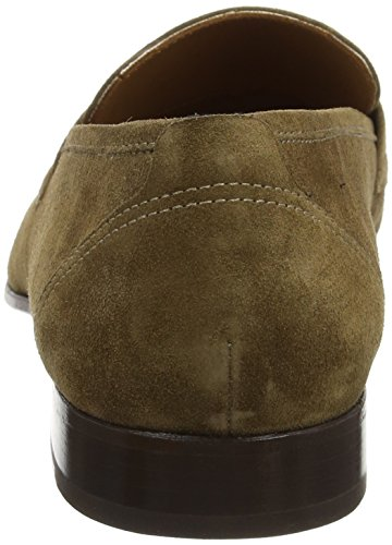 Hackett London Glove Loafer Suede, Mocasines para Hombre Marrón (Brown Taupe)