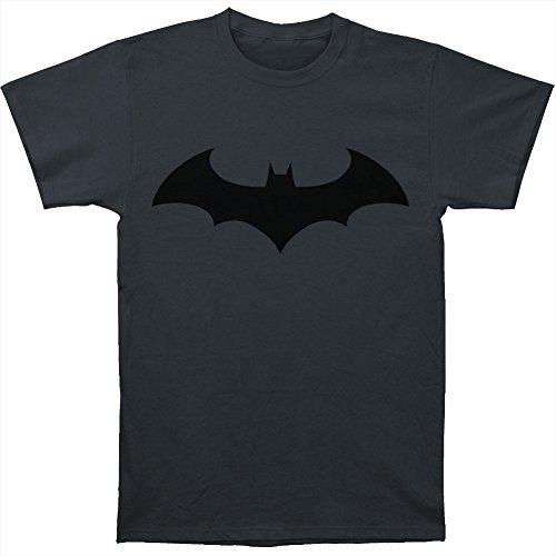 Trevco Batman Hush Logo Symbol T-shirt (XXXL, Charcoal) from Trevco