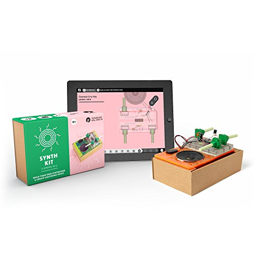 Tech Will Save Us, Synth Kit | Educational Music STEM Toy, Ages 13 and Up Tech Full Kit