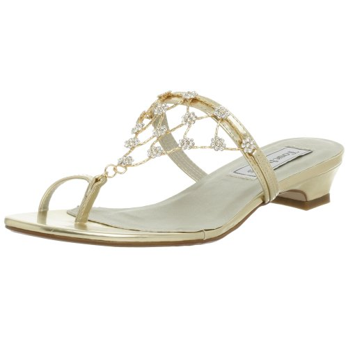Touch Ups Women's Marcella Sandal,Gold,9.5 M