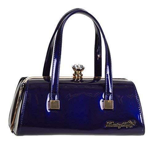 Marino Bolso 50s Vintage Banned De Azul Emily Apparel Mano Retro CpqPzfw