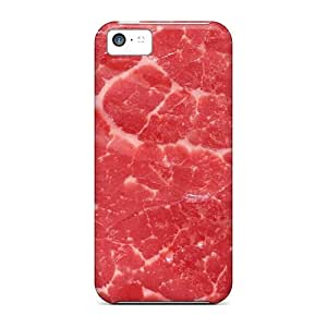 Tpu Fashionable Design Meat Texture Rugged Case Cover For Iphone 5c New