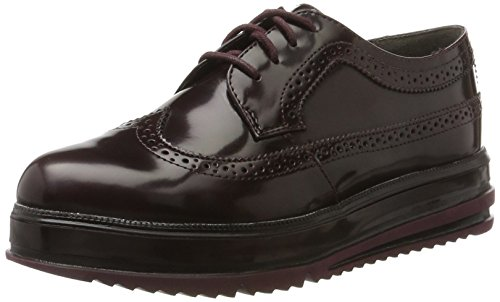 Rosso Oxford Scarpe bordeaux Tamaris Donna 23700 Stringate Brush 8TzX6