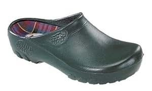 Hombre–Jardín Zapatos, Zuecos de jardín, guantes de trabajo (Talla 44, color verde, Jolly Zueco