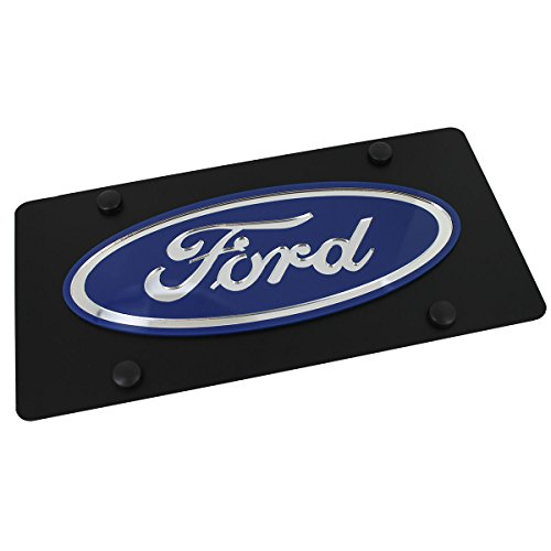 Ford Eurosport Daytona- Compatible Logo on Carbon Steel License Plate - Oval License Plate