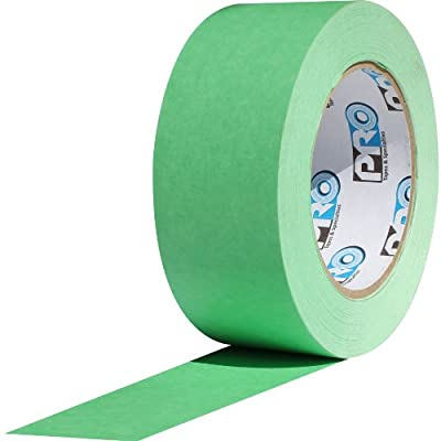 "ProTapes Pro Scenic 708 Crepe Paper 8 Day Easy Release Painters Masking Tape, 60 yds Length x 2"" Width, Green (Pack of 1)"