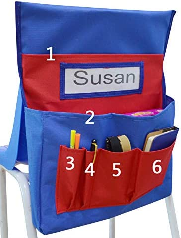 VNOM Chairback Organizer Classroom Daycare product image