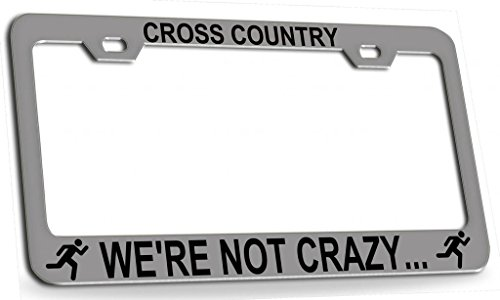 cross country license plate frame - 1