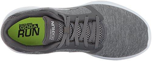 para para Mujer Deportivas Zapatillas 600 Performance Interior Run Go Divert Grey Skechers Gris Twqp601fxn