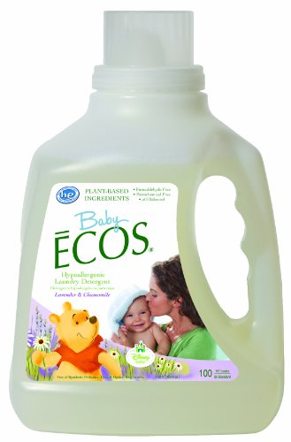 Earth Friendly Products Baby Ecos Disney Laundry Detergent,  Lavender and Chamomile,  100 Ounce (Pack of 2)