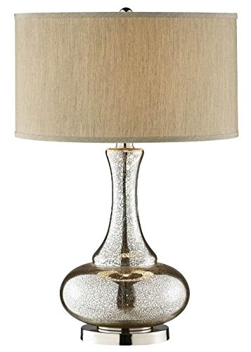 (Stein World 98876 Silver/Gold Glass Gourd Table Lamp)