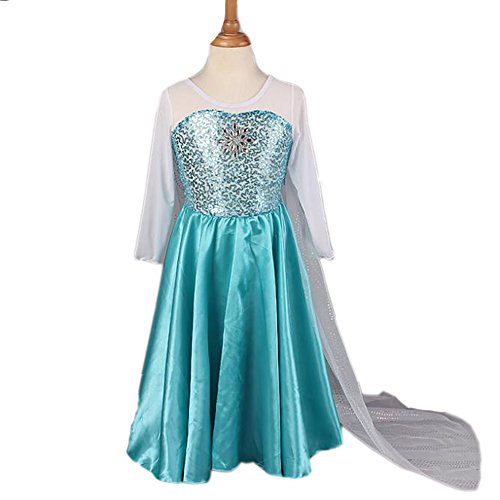 Piggy2gether Girl Princess Pageant Dresses Gown Princess Christmas Costume, 10 (Disney Princess Pageant Dress)