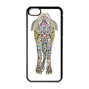 James-Bagg Phone case Big elephant art protective case For Iphone 5c FHYY469783