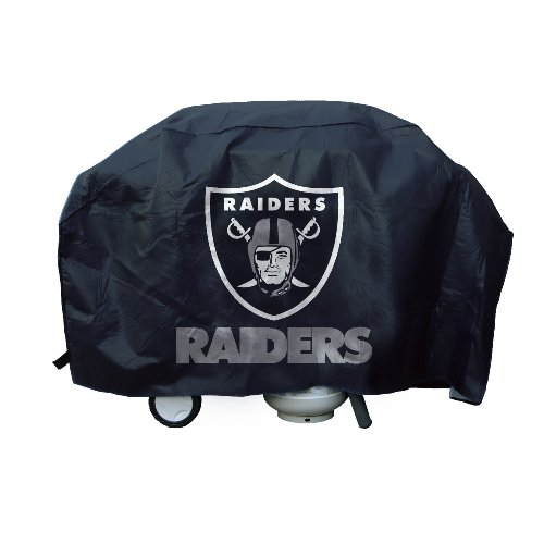 - Rico Industries NFL Oakland Raiders Vinyl Grill Cover
